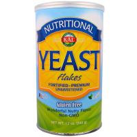 KAL Yeast Flakes (340 гр) - Пищевые дрожжи в хлопьях