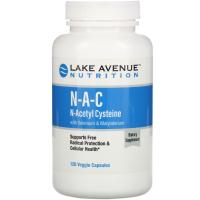 Lake Avenue Nutrition N-A-C N-Acetyl Cysteine 600 mg
