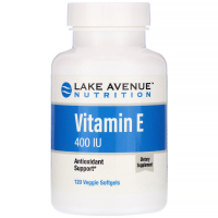 Lake Avenue Nutrition Vitamin E 400 IU