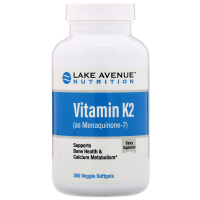 Lake Avenue Nutrition Vitamin K2 (as Menaquinone-7) 50 mcg