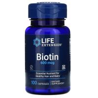 Life Extension Biotin 600 mcg