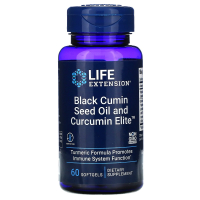 Life Extension Black Cumin Seed Oil and Curcumin Elite
