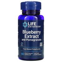 Life Extension Blueberry Extract and Pomegranate - экстракт черники с гранатом