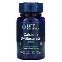 Life Extension Calcium D-Glucarate 200 mg
