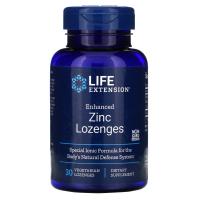Life Extension Enhanced Zinc Lozenges - усовершенствованная формула цинка