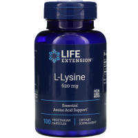 Life Extension L-Lysine 620 mg