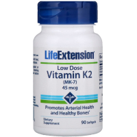 Life Extension Low Dose Vitamin K2 (MK-7) 45 mcg