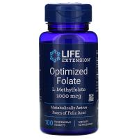 Life Extension Optimized Folate 1000 mcg - Оптимизированная фолиевая кислота