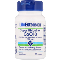 Life Extension Super Ubiquinol CoQ10 100 mg