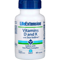 Life Extension Vitamins D and K with Sea-Iodin