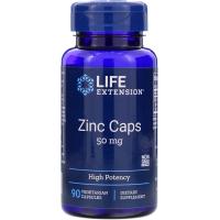 Life Extension Zinc Caps 50 mg