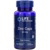 Life Extension Zinc Caps 50 mg
