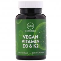 MRM Vegan Vitamin D3 & K2