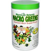 Витамины MacroLife Naturals Macro Greens (283,5 гр)