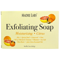 Madre Labs Exfoliating Bar Soap - Мыло-скраб с маслом марула и таману, маслом ши и цитрусом (141 гр)