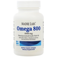 Madre Labs Omega 800 1000 mg