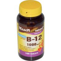 Mason Natural Vitamin B-12 1000 mcg