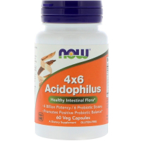 NOW 4x6 Acidophilus
