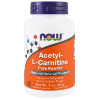 NOW Acetyl L-Carnitine Pure Powder (85 гр)