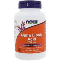 NOW Alpha Lipoic Acid 250 mg