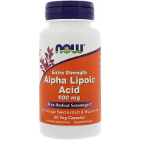 NOW Alpha Lipoic Acid 600 mg