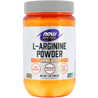 NOW Arginine Powder (454 гр)