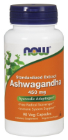 NOW Ashwagandha 450 mg - Ашваганда