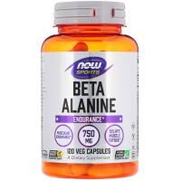 NOW Beta-Alanine 750 mg