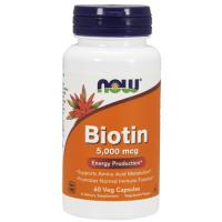 NOW Biotin 5000 mcg