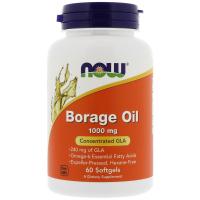 NOW Borage Oil 1000 mg - Масло бурачника