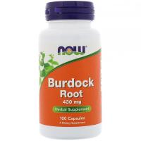 NOW Burdock Root 430 mg - Корень лопуха