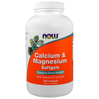 NOW Calcium & Magnesium with Vitamin D-3 and Zinc