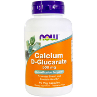 NOW Calcium D-Glucarate 500 mg
