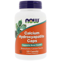 NOW Calcium Hydroxyapatite Caps