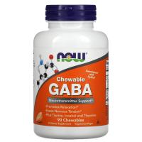 NOW Chewable GABA