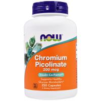 NOW Chromium Picolinate 200 mcg
