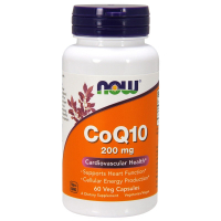 NOW CoQ10 200 mg (60 капс)