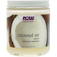 NOW Coconut Oil Natural (207 мл) - Кокосовое масло
