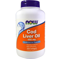 NOW Cod Liver Oil 650 mg