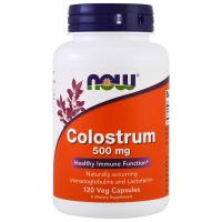 NOW Colostrum 500 mg - Молозиво