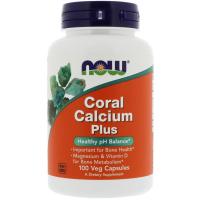 NOW Coral Calcium Plus - Коралловый кальций