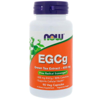 NOW EGCg Green Tea Extract 400 mg NOW (90 капс) - Экстракт зелёного чая