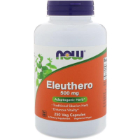 NOW Eleuthero 500 mg - Сибирский женьшень