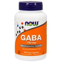 NOW GABA 750 mg