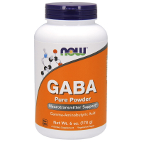 NOW Gaba Powder (170 гр)