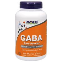 NOW Gaba Powder (170 гр)
