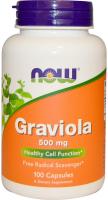 NOW Graviola 500 mg - Гравиола
