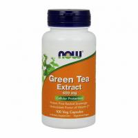 NOW Green Tea Extract 400 mg - Экстракт зелёного чая