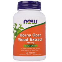 NOW Horny Goat Weed 750 mg - Экстракт горянки