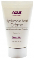 NOW Крем для лица Hyaluronic Acid PM Creme 2 oz (59 мл)